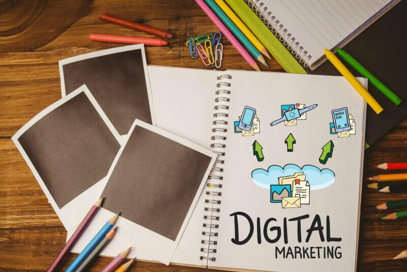 デジタルマーケティングのイメージ